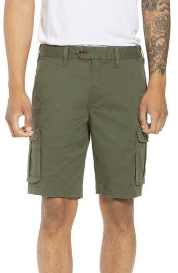 Ted Baker Cargogo Slim Fit Shorts Beige