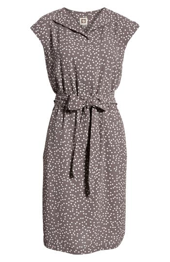 Vintage Polka Dot Dresses – 50s Spotty and Ditsy Prints Womens Anne Klein Dot Print A-Line Dress $119.00 AT vintagedancer.com