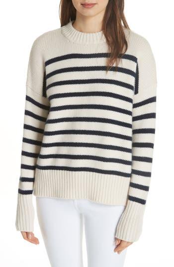 La Ligne Marin Wool & Cashmere Sweater, Ivory