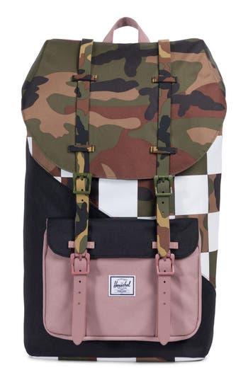 Herschel Supply Co. Little America Kaleidoscope Backpack - Black