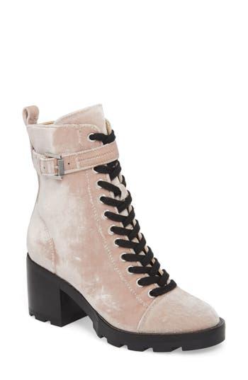 Marc Fisher Ltd Waren Ii Combat Boot, Pink