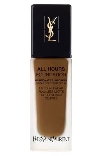 Yves Saint Laurent All Hours Full Coverage Matte Foundation Spf 20 - B85 Coffee