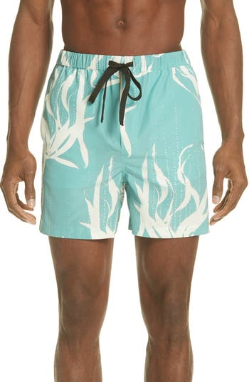 5e9308dfe9 DOUBLE RAINBOUU SOUND GARDEN SCHOOL SWIM TRUNKS, GREEN
