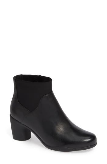 Clarks Un Rose Mid Ankle Boot, Black