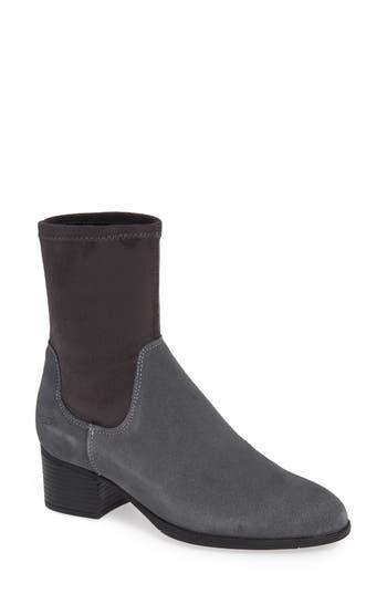 Bos. & Co. Ream Waterproof Sock Bootie - Grey