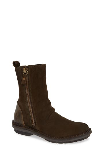 Fly London Fade Boot - Brown