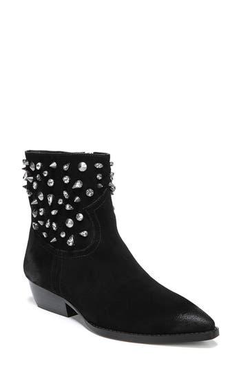 Sam Edelman Avril Embellished Bootie, Black