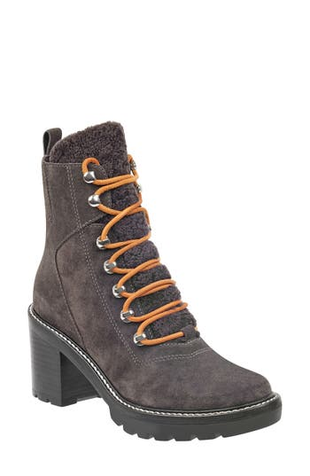 Marc Fisher Ltd Denise Combat Boot, Grey