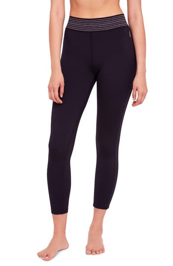 Free People Practice Makes Perfect Leggings, Black