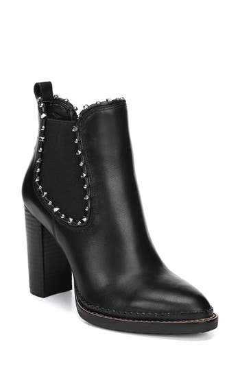 Sam Edelman Salma Studded Chelsea Boot, Black