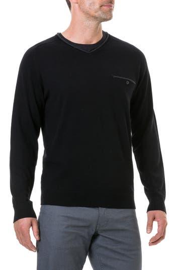 Rodd & Gunn Goose Bay Wool Sweater, Black