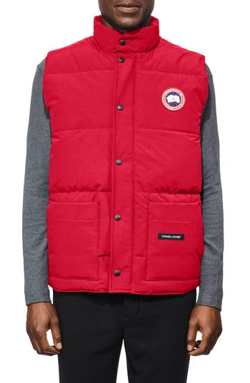 Canada Goose Freestyle Regular Fit Down Vest, Red