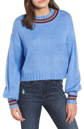 Codexmode Drop Shoulder Sweater, Blue