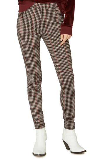 Sanctuary Grease Leggings, Burgundy