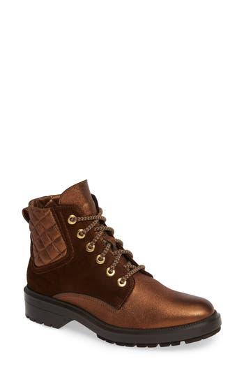 Aquatalia Lainy Weatherproof Boot- Brown