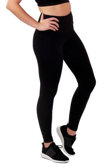 Lalabu High Waist Postpartum Leggings, Black