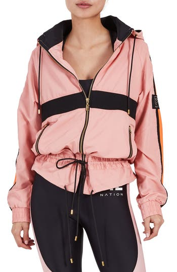 P.e. Nation Slouchy Jacket, Coral
