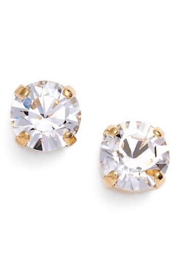 Women's L. Erickson 'Grace' Crystal Stud Earrings