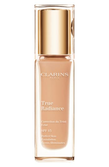 Clarins 'True Radiance' Spf 15 Perfect Skin Foundation - Sand