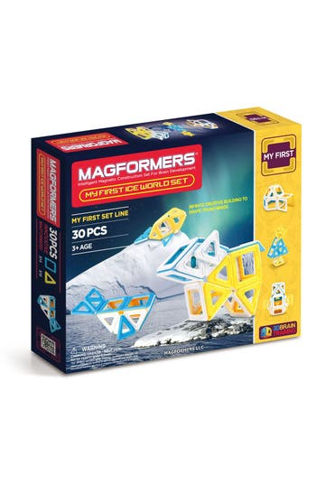 Toddler Magformers 'My First Ice World' Magnetic 3D Construction Set