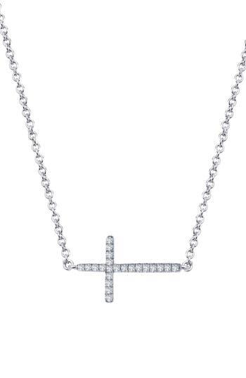 Women's Lafonn 'Lassaire' Cross Pendant Necklace