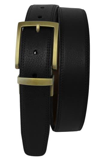 Boconi Reversible Leather Belt, Black/ Brown