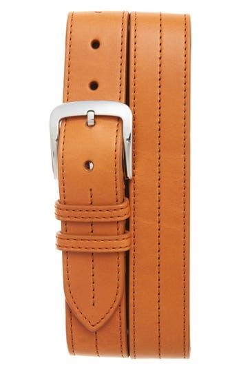 Shinola Leather Belt, Tan