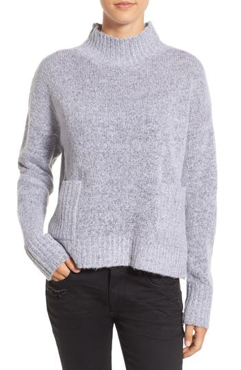 Women's Love By Design Mock Neck Patch Pocket Pullover