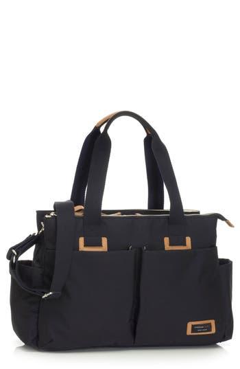 Infant Storksak Diaper Shoulder Bag - Black