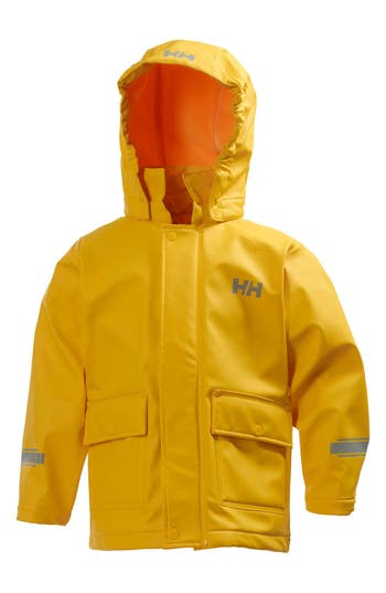 Boy's Helly Hansen Juell Hooded Waterproof Jacket