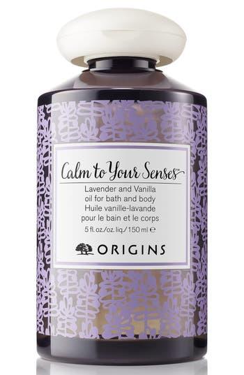 Origins Calm To Your Senses(TM) Lavender And Vanilla Oil For Bath And Body