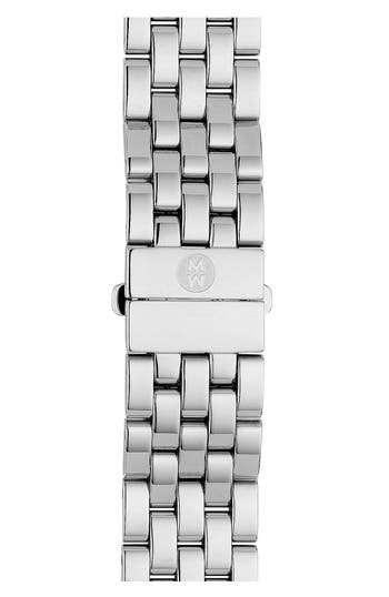 Women's Michele Urban Mini 16Mm Stainless Steel Bracelet Watchband