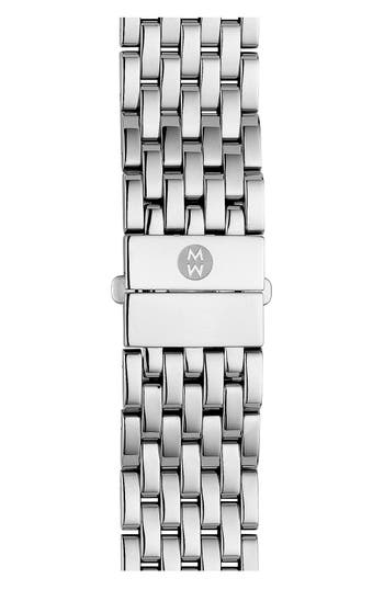 Women's Michele Deco 18Mm Bracelet Watchband