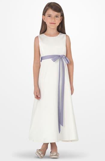 Girl's Us Angels Sleeveless Satin Dress