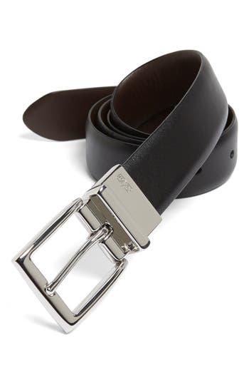Polo Ralph Lauren Reversible Belt, Black/ Brown