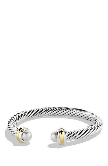 Women's David Yurman Cable Classics Bracelet With Semiprecious Stones