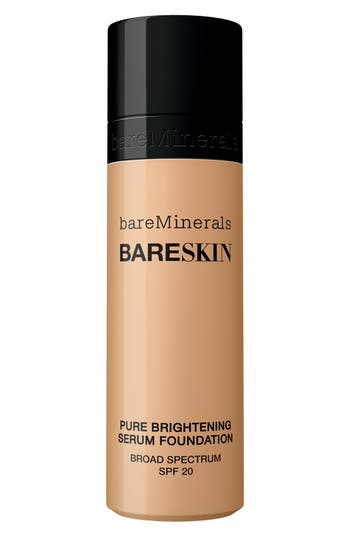 Bareminerals Bareskin Pure Brightening Serum Foundation Broad Spectrum Spf 20 - 10 Bare Buff