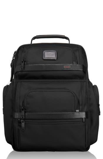 Men's Tumi Alpha 2 T-Pass Laptop Brief Pack With Tumi Id Lock Pocket - -  adult