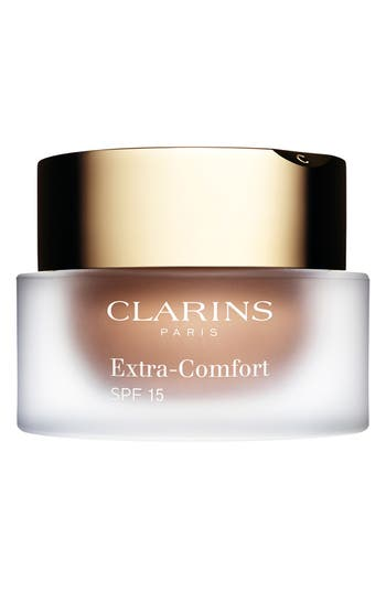 Clarins Extra-Comfort Anti-Aging Foundation Spf 15, Size 1.1 oz - 114-Capuccino