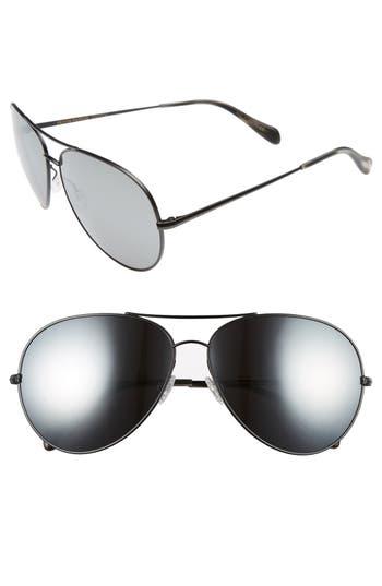 Oliver Peoples Sayer 6m Oversized Aviator Sunglasses -
