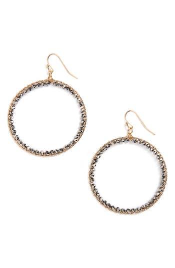 Women's Panacea Crystal Circle Earrings