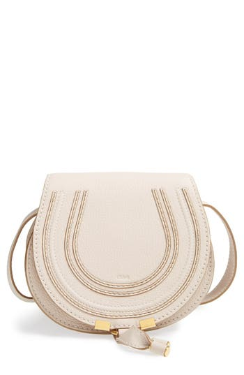Chloé 'Mini Marcie' Leather Crossbody Bag -