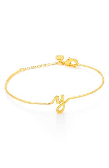 Women's Gorjana Alphabet Bracelet