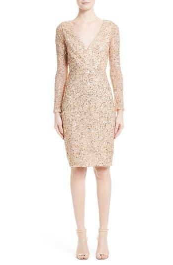 Women's Rachel Gilbert Sequin Body-Con Dress