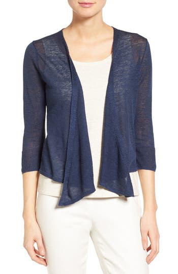 Women's Nic+Zoe 4-Way Convertible Three Quarter Sleeve Cardigan