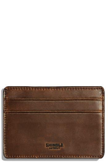 Shinola Leather Card Case -