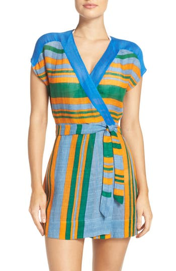Women's Diane Von Furstenberg Cover-Up Wrap Dress