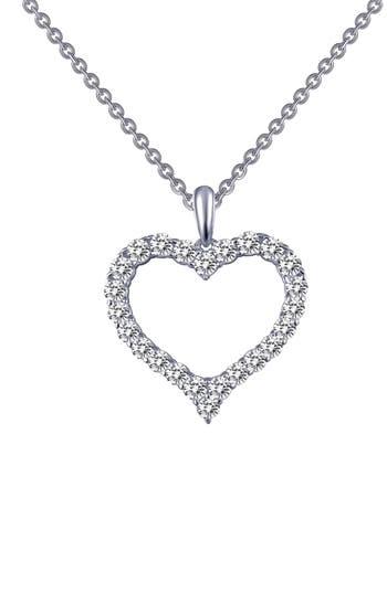 Women's Lafonn Simulated Diamond Heart Pendant