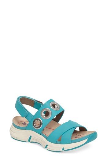 Bionica Olney Sandal, Blue/green