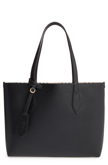 Burberry Small Lavenby Reversible Tote - Black